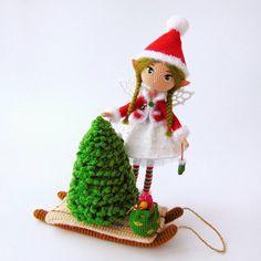 @crochet_fairy_tales)  «Люблю я вязаные ёлочки  Вяжешь такую и ощущение праздника появляется в независимости от времени…»