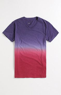 strange how they didn't finish the ombre or at least meshed the colors better. purple/burgundy/red