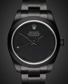 Rolex Milgauss: Dark Knight