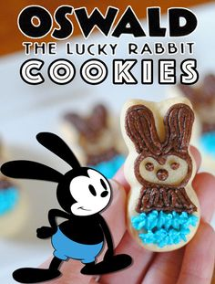 Easter is fast-approaching, and that means you need some adorable treats! Try this Oswald the Lucky Rabbit cookie tutorial from Adelle. Simple and yummy!