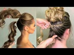 Party Hairstyles, Girl Hairstyles, Braided Hairstyles, Wedding Hairstyles, Hairstyles 2018, Easy Hairstyle, Braided Updo, Easy Everyday Hairstyles, Hair Videos