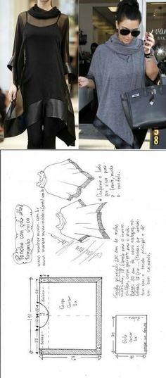 Poncho cloak stitch...<3 Deniz <3
