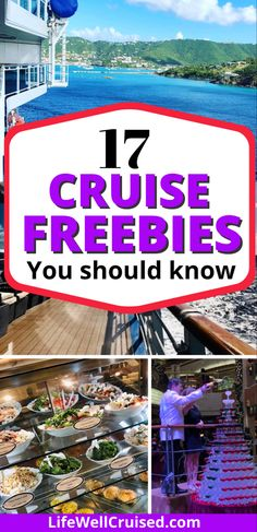 Yes, all this is free on a cruise! Here's a list of the best free things to do on a cruise ship, for everyone in the family! Cruising is an amazing value, and you'll see why with this list of all that is included or free! #cruisetravel #cruisetips #cruises #cruising #cruisingtips #tipsforcruising Cruise Excursions, Cruise Destinations, Cruise Port, Cruise Packing Tips, Cruise Travel, Cruise Vacation, Cruise Ship Reviews, Best Cruise Ships, Top Cruise Lines