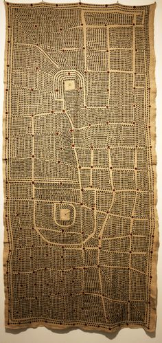 International Biennial of Textile Art WTA in Montevideo – Textile Forum Bl. Map Quilt, Quilts, Quilt Art, Textile Fabrics, Textile Art, Textile Texture, Fabric Rug, Quilted Wall Hangings, Cartography