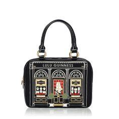 Black Small Jewellery Shop Jenny | Handbags | Designer Bags | Lulu Guinness