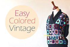 Crochet Granny Sweater - Chart ❥ 4U // hf http://www.pinterest.com/hilariafina/