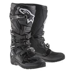 Alpinestars Tech 7 Enduro Mx Off Road Dirt Bike Racing Motocross Boots Mx Boots, Biker Boots, Motorcycle Boots, Combat Boots, Enduro Motorcycle, Enduro Motocross, Women Motorcycle, Motorcycle Garage, Honda