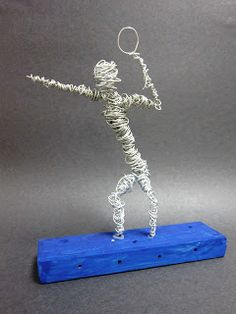 Spot of Color: 6th Grade Wire Figures