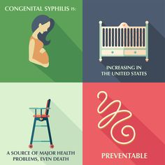 Did you know a mother who has syphilis can pass the infection onto her baby during pregnancy? Recent CDC data show that the number of babies born with syphilis has increased drastically in recent years. It's important that healthcare providers know who to test and when with this information. #STDMonth16 #TalkTestTreat