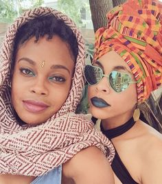 13 Incredible Beauty Looks from the Afropunk Festival via @byrdiebeauty