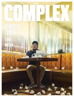 Kendrick Lamar Interview: Turn the Page 2014 Cover Story | Complex // LOVE the journalistic style, but also the website layout and photography
