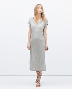 Image 1 of LONG DRESS from Zara