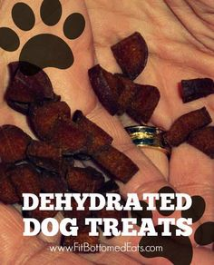 Lucky the pup really lucked out with this homemade dehydrated dog treats recipe!
