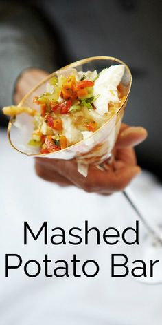 Easy Entertaining: Mashed Potato Bar *One of The Best List of Toppings