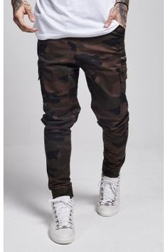 Illusive London - Cargo Trousers - Camo
