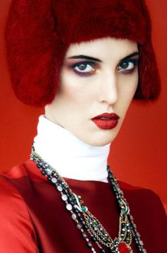 Harper's Bazaar Russia November 2013 | Ruby Aldridge by Erik Madigan Heck  [Editorial]