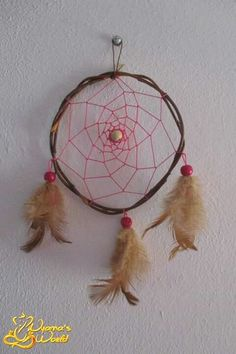 Dreamcatcher 13cm in diameter and 27cm long :) Accepted orders*