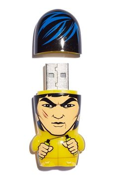 Hi-yah! Mimobot 8GB USB drive. Usb Drive, Usb Flash Drive, Famous Men, Wishing Well, Bruce Lee, Tech Gadgets, Tech Accessories, Gifts For Him, Take That