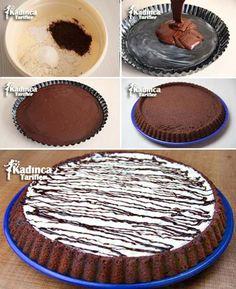 Tart Kalıbında Islak Kek Tarifi Videosu