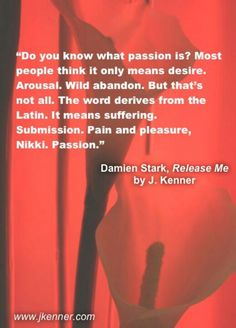 Release Me ~ The Stark Trilogy by J. Kenner
