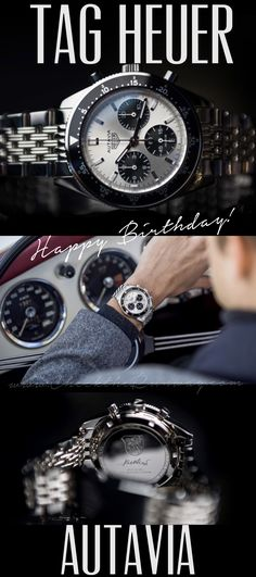 TAG Heuer Autavia Chronograph - Happy Birthday Jack Heuer!