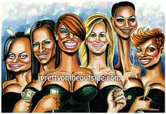 Real Housewives of Atlanta Housewives Of Atlanta, Real Housewives, Celebrity Caricatures, Tv Guide, New Shows, Best Face Products, Cute Illustration, Black Magic