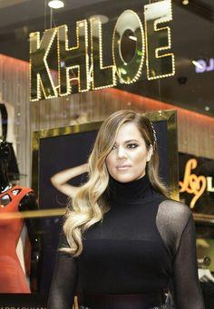 Khloe Kardashian Photos - Khloe Kardashian launches the Kardashian collection for Lipsy on November 2013 in Dubai, United Arab Emirates. - Khloe Kardashian Launches The Kardashian Collection For Lipsy Khloe Kardashian Cabello, Estilo Khloe Kardashian, Khloe Kardashian Photos, Kardashian Fashion, Wedding Hairstyles, Cool Hairstyles, Light Hair, Celebrity Hairstyles, Her Hair
