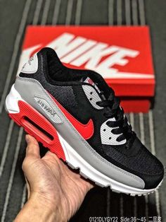 Nike Air Max 90 Breathe (2 Colorways) (WhiteBlackWolf Grey