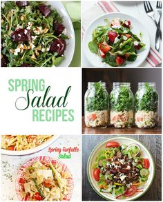 delicious spring salad recipes! maisondepax.com