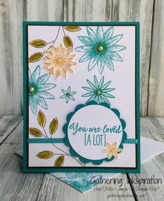 Gathering Inkspiration: Grateful Bunch... You are Loved a Lot