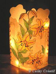 FABRIQUER UNE LAMPE tuto More