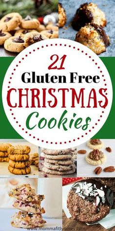 21 Gluten Free Christmas Cookies for a Healthier Christmas Dessert! Claudia - 21 Gluten Free Christmas Cookies for a Healthier Christmas Dessert! gluten free christmas cookie recipes for gluten free baking for the holidays - Cookies Gluten Free, Gluten Free Deserts, Gluten Free Sweets, Foods With Gluten, Gluten Free Cooking, Dairy Free Recipes, Gluten Free Party Food, Celiac Recipes, Wheat Free Recipes