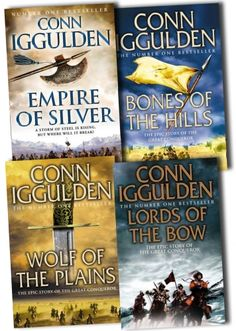 Conn Iggulden Conqueror Series 4 Books Collection Pack
