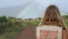 Single rainbow...