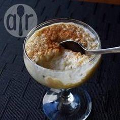 Arroz doce bem cremoso @ allrecipes.com.br