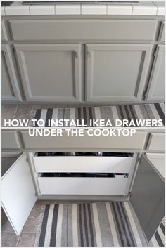 How-to: Install Drawer Pullouts Under A Cooktop - IKEA Hackers - IKEA Hackers