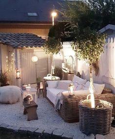 diy patio ideas on a budget / diy patio furniture . diy patio ideas on a budget . Patio Garden Ideas On A Budget, Small Backyard Patio, Backyard Patio Designs, Diy Patio, Backyard Landscaping, Patio Ideas, Landscaping Ideas, Backyard Ideas, Budget Patio