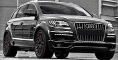 Notorious for turning cool cars into hot cars, A. Kahn Design got its hand on the Audi Quattro Diesel Wide Track. The already stunning ride is seen with… Audi Q7 Quattro, Allroad Audi, Audi 2017, Audi A5, Suv Cars, Car Car, My Dream Car, Dream Cars, Sport Cars