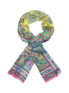 Shop online Etro's new-season women's scarves on the Official Website. Patterned Silk Scarf - Product Code: 141D1000754050500. Discover the Spring Summer 14 Collection.