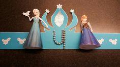 Frozen verjaardagskroon Elsa en Anna