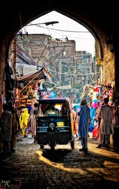 Typical Pakistani street