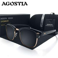 Classic Half Metal Sunglasses Men Brand Designer Ray Glasses G15 Coating  Mirror Sun Glasses Fashion Oculos eb708078358f