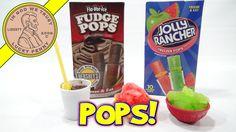Disney's Mickey Mouse Snow Cone Maker, Fudge Pop & Jolly Rancher!   #MickeyMouseSnowConeMaker #SnoCone #JollyRancher
