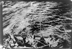 """Not very full … :(  Titanic Survivors, 1912, OMG  (Apparently the women tried to get the """"men"""" to go back and help people but they refused. )"""