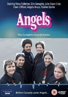 Before casualty there was Angels. This  BBC hospital drama (following student nurses) started as a seasonal series (1975-78) before becoming a twice weekly soap from 1979 to 1983.