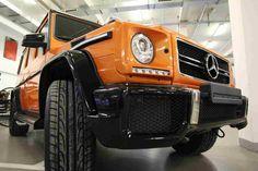 Orange #Mercedes G63 #AMG Crazy Color Edition Spotted in #Berlin http://www.benzinsider.com/2015/02/orange-mercedes-g63-amg-crazy-color-edition-spotted-in-berlin/