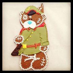 подарки на 23 февраля Тэдди  - солдат. Handmade.