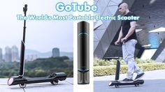 GoTube Electric Scooter The World's Most Portable Electric Scooter Kicks...
