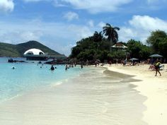 Coki Beach! A little beach on the other side of the island in  St Thomas - where you can literally walk in the water and snorkel for $5!!!