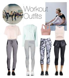 """""""Workout Outfits"""" by brubyx ❤ liked on Polyvore featuring adidas, Beyond Yoga and Vimmia"""